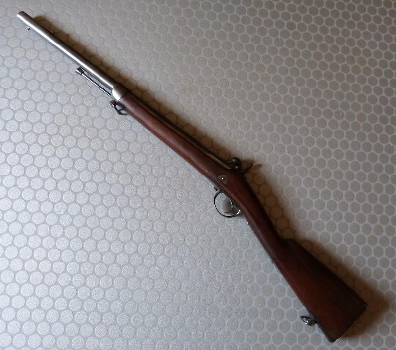 Mousqueton d'essai (?) pour l'Artillerie (?), votre avis? P1040722