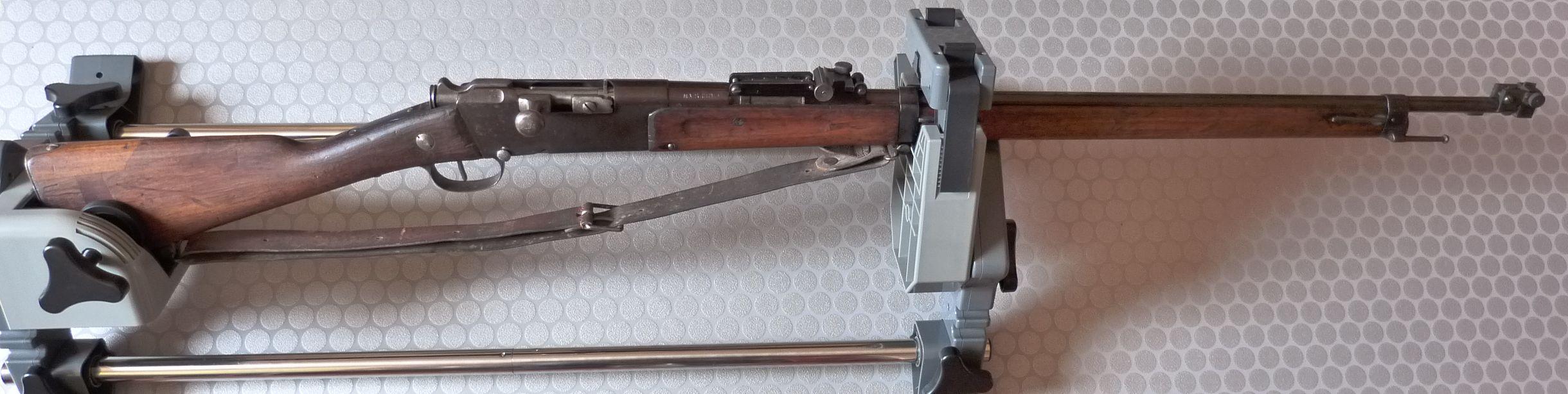 Un Lebel avec organes de visée pour le tir de précision. P1040825