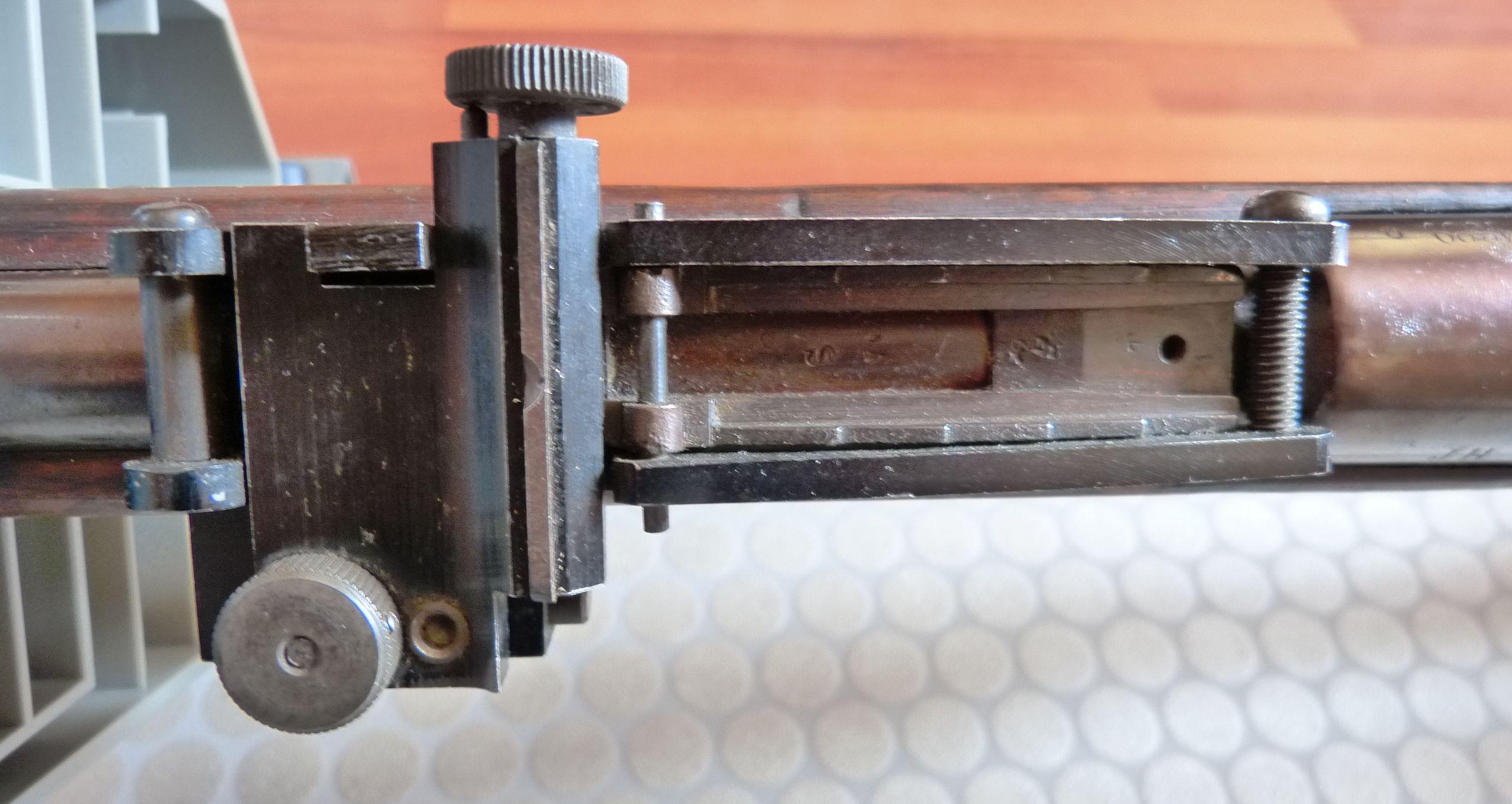 Un Lebel avec organes de visée pour le tir de précision. P1040828