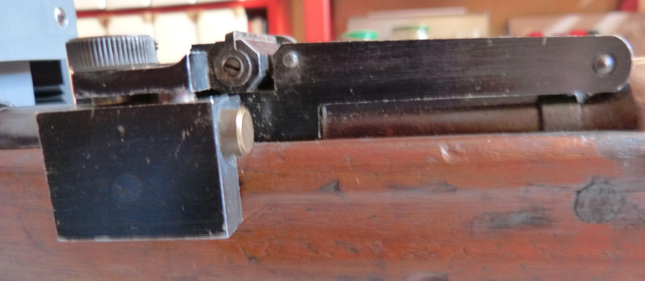 Un Lebel avec organes de visée pour le tir de précision. P1040832