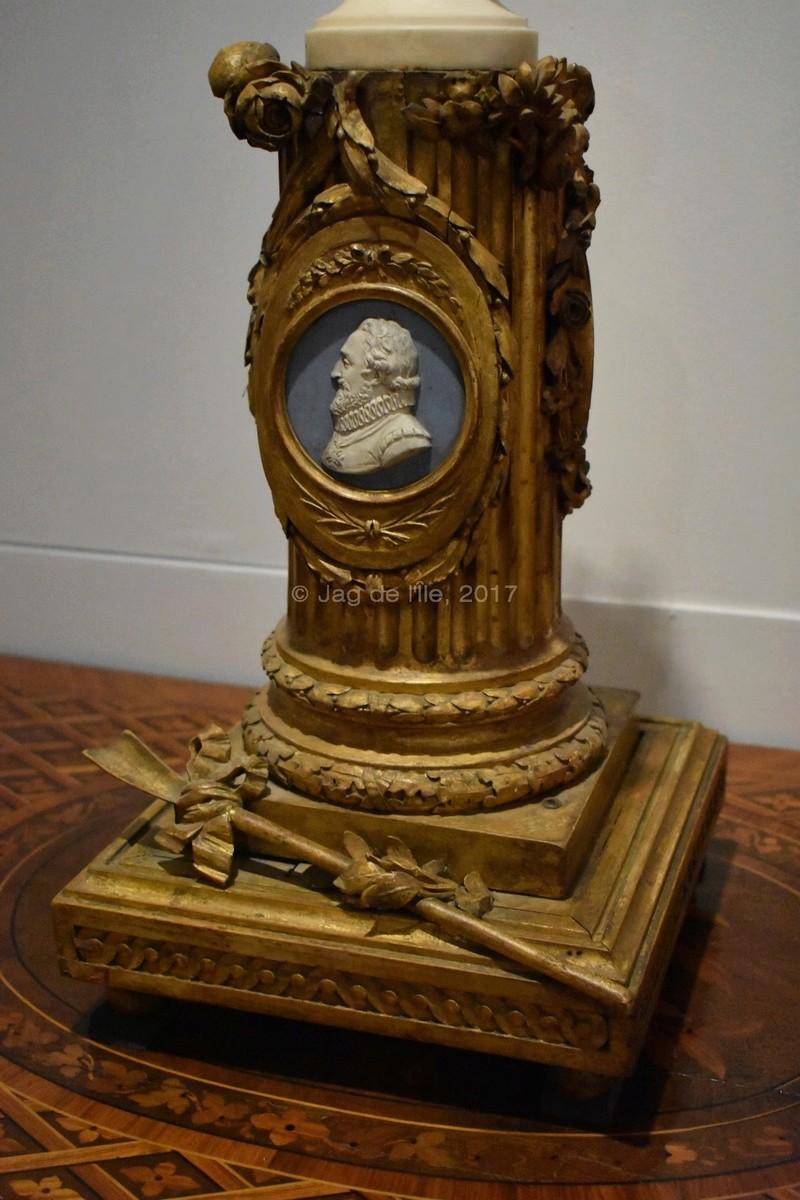Buste de Marie-Antoinette sur piédestal dynastique, musée Cognacq Jay Cognac15