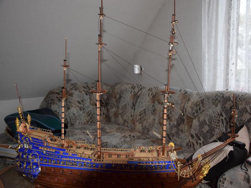 Le Soleil Royal von De Agostini 1 : 70 gebaut von Kurti - Seite 14 S310