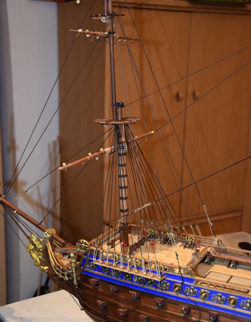 Le Soleil Royal von De Agostini 1 : 70 gebaut von Kurti - Seite 15 T110