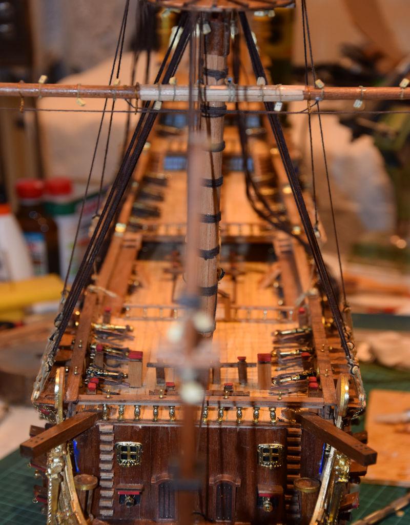 Le Soleil Royal von De Agostini 1 : 70 gebaut von Kurti - Seite 15 T210