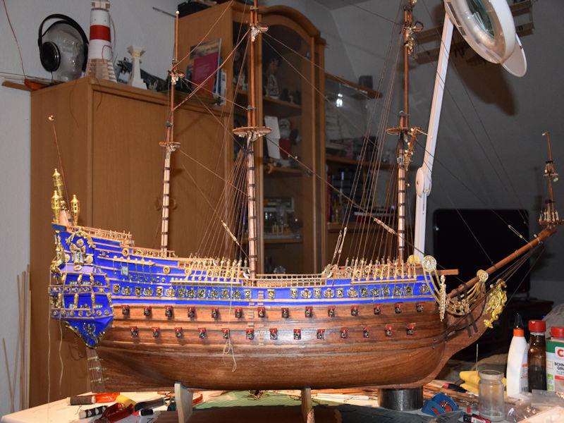 Le Soleil Royal von De Agostini 1 : 70 gebaut von Kurti - Seite 15 T410