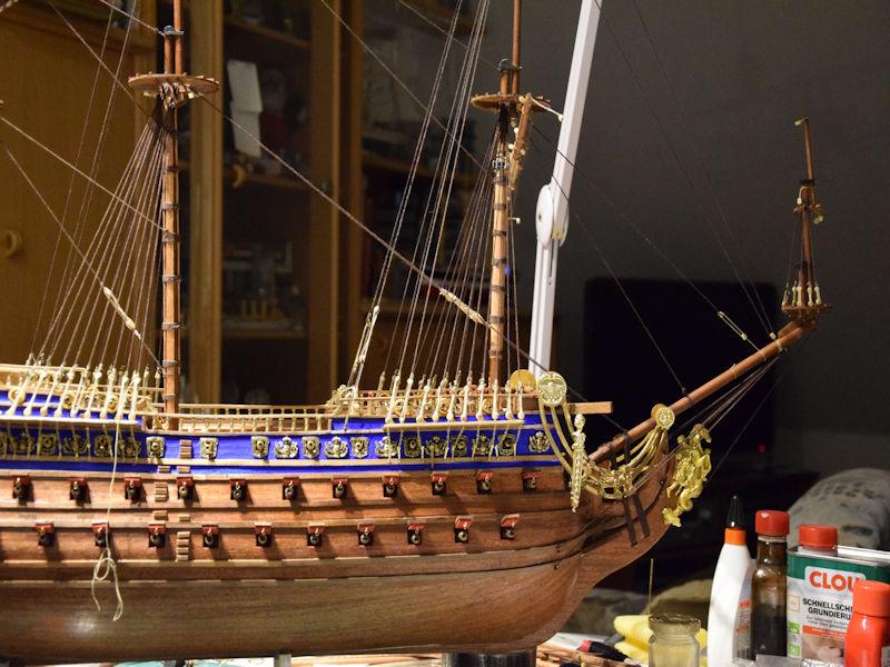 Le Soleil Royal von De Agostini 1 : 70 gebaut von Kurti - Seite 15 T610