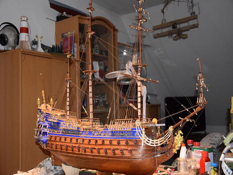 Le Soleil Royal von De Agostini 1 : 70 gebaut von Kurti - Seite 16 T910