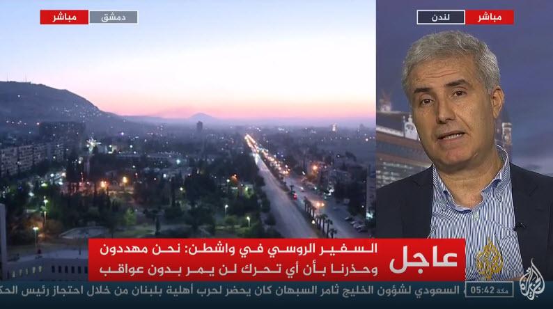 المرصد السوري: هذه الأماكن التي تم استهدافها في دمشق 14-04-15