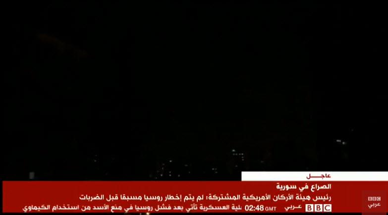 المرصد السوري: هذه الأماكن التي تم استهدافها في دمشق 14-04-19