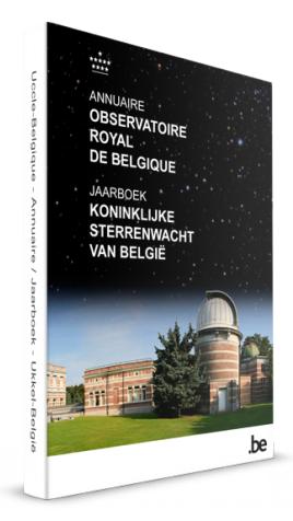 ANNUAIRE DE L'OBSERVATOIRE ROYAL DE BELGIQUE 2018 (PDF) 110