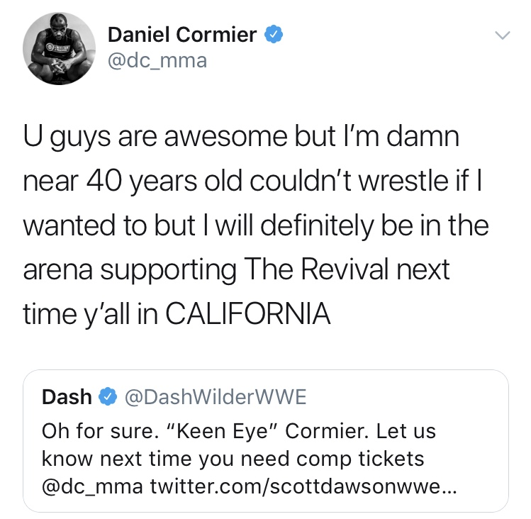 Daniel Cormier vs. The Young Bucks A9e4dd10