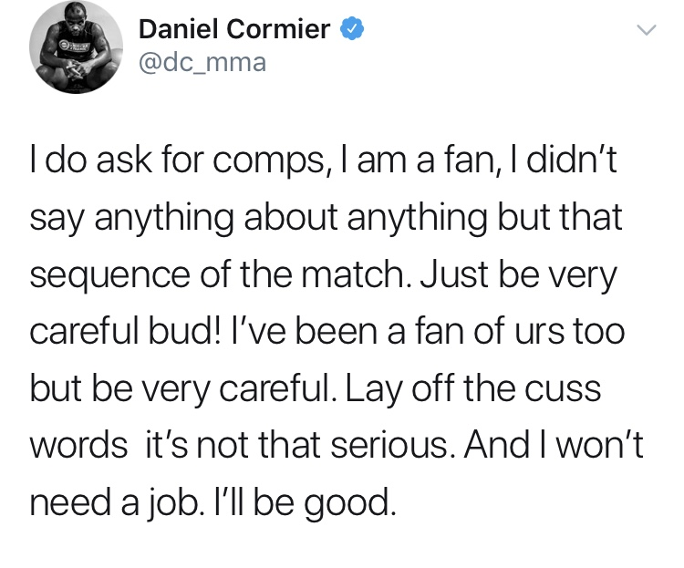 Daniel Cormier vs. The Young Bucks C5f94910