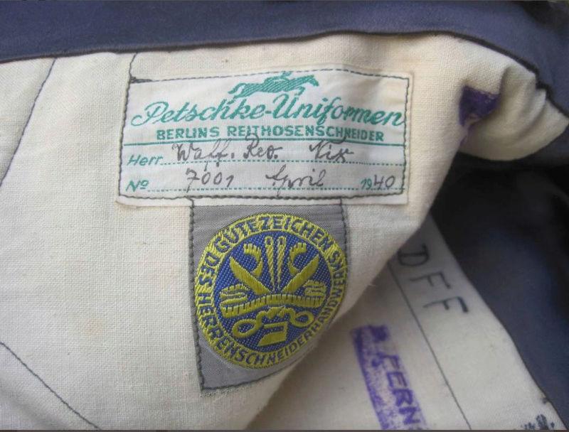 pantalon officier heer 1940 O510