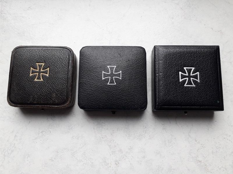 Ecrins pour Croix de Fer de 1ère Classe (EK1) 1914, 1939 et 1957 20180333