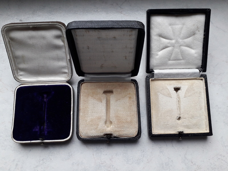 Ecrins pour Croix de Fer de 1ère Classe (EK1) 1914, 1939 et 1957 20180334
