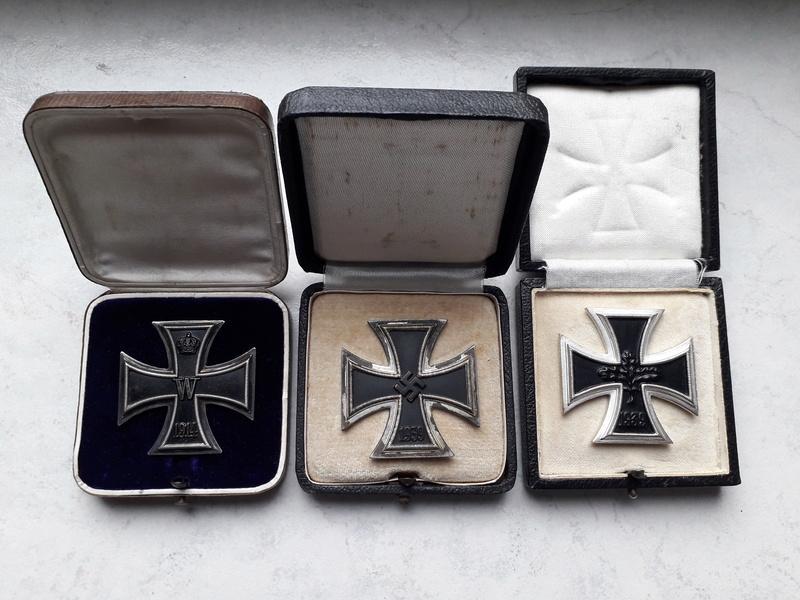 Ecrins pour Croix de Fer de 1ère Classe (EK1) 1914, 1939 et 1957 20180335
