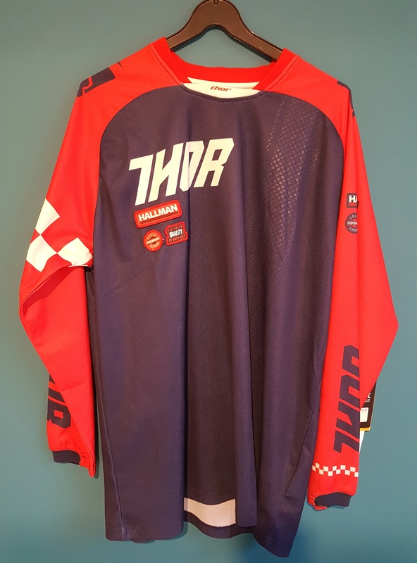 VDS maillots, pantalons, casque NEUF 50% THOR  First racing  20171127