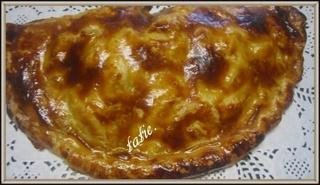 Chausson aux pommes et rhubarbe.  16708710