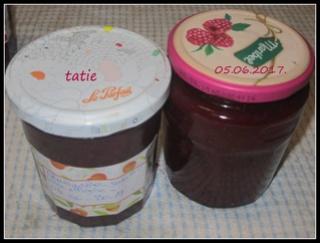 Confiture aux fraises /basilic. 18766011