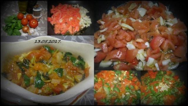 Sauce tomates & basilic.2.  20156011