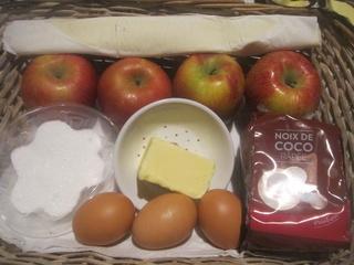 Tarte à la crème noix de coco. Img_6213