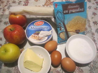 Tarte aux pommes crème Mascarpone . Img_6410