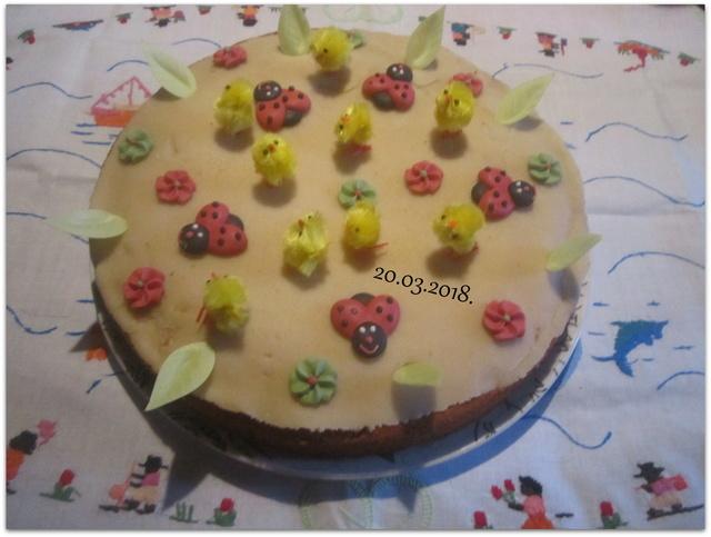 Gâteau mes amis aux pays fleuris. Img_6810
