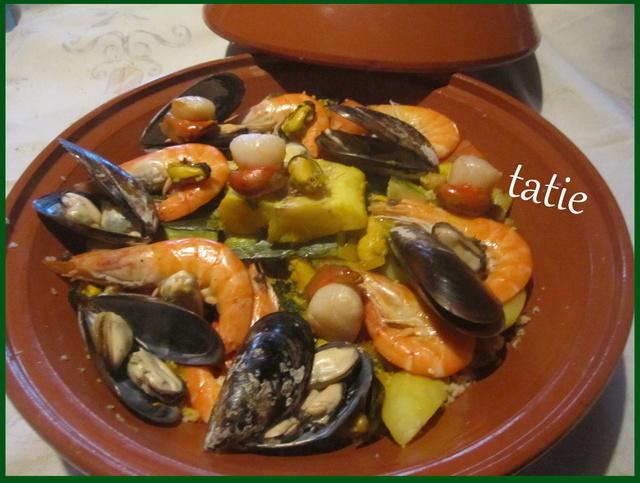 Couscous aux fruits mer et poisson. Img_6910
