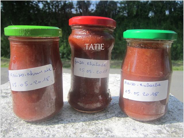 Confiture de fraises/rhubarbe vanillé. Img_7013