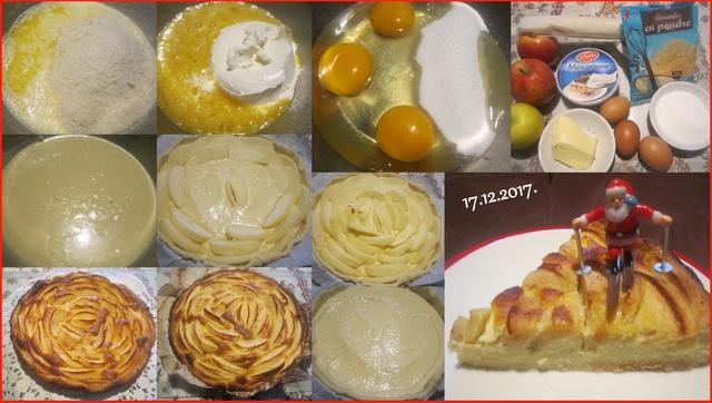 Tarte aux pommes crème Mascarpone . Tarte_16