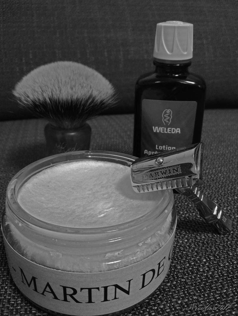 Défi ! Une semaine de rasage avec les mêmes produits  - Page 3 Darwin10