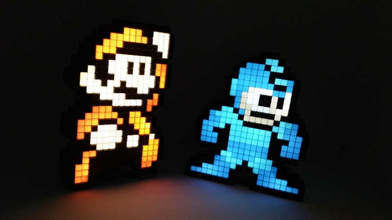 Pixels Pals : Figurines lumineuses 20171210