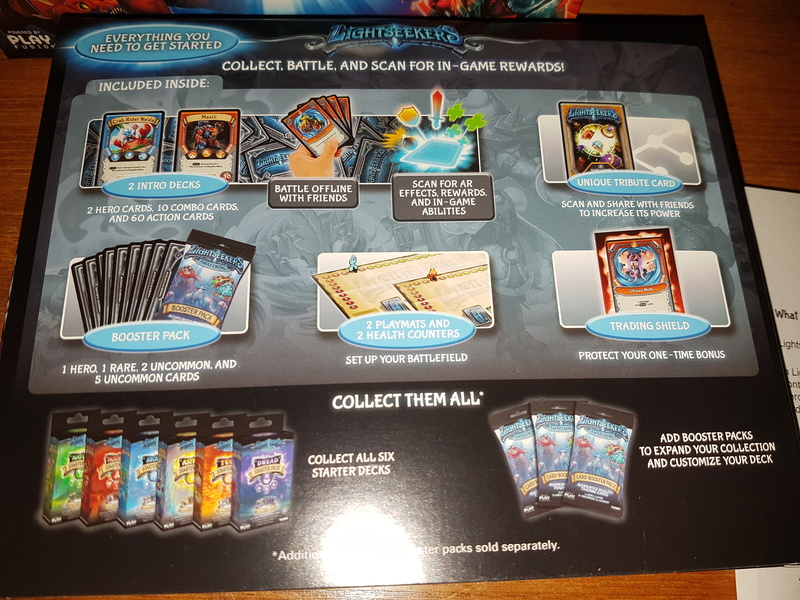 Play Fusion Lightseekers Intro Packs - Free 20180311