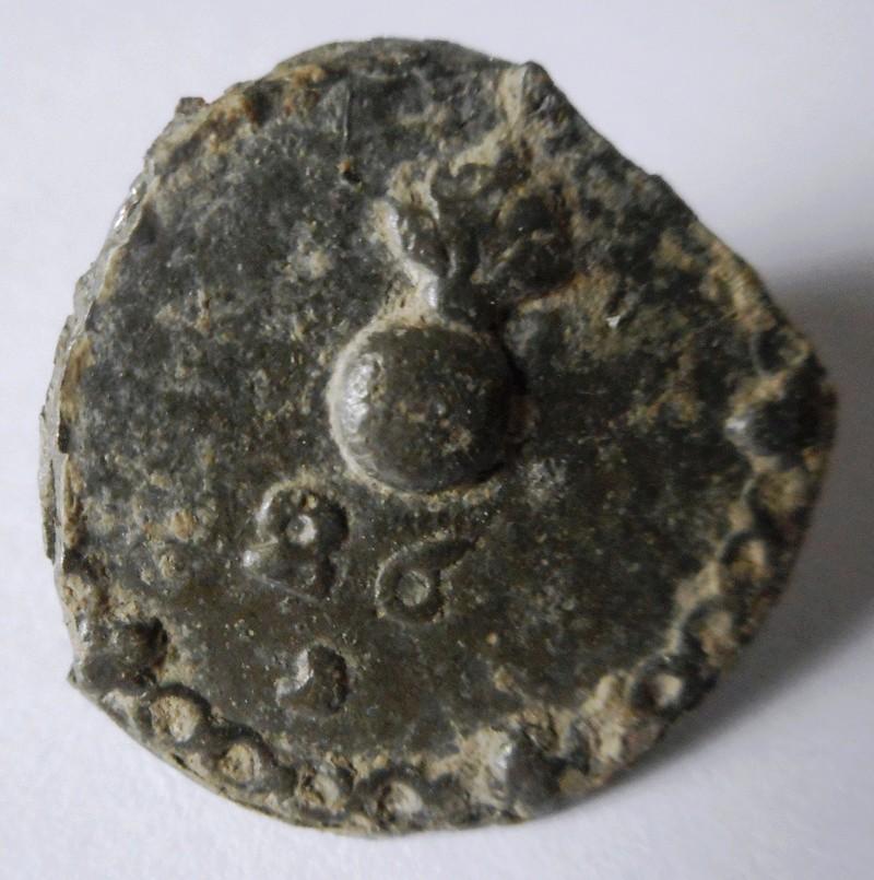 Un bouton à la grenade pour le 26e régiment de ? pèriode XVIIIe Beaumo11