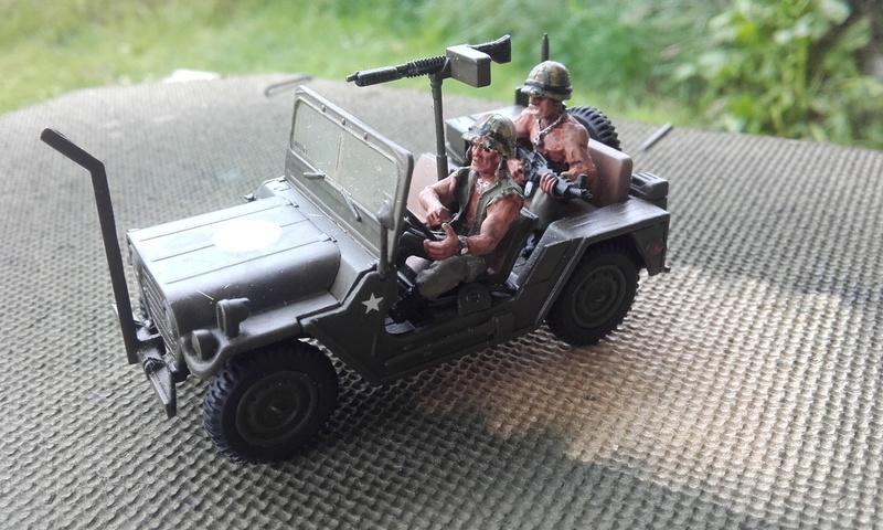 "conversion chauffeur de la jeep ""mutt"" vietnam 20180574"