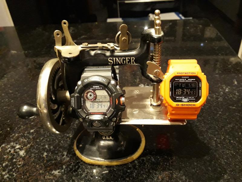 Feu de vos Casio G-Shock GW M5610  G-shoc10