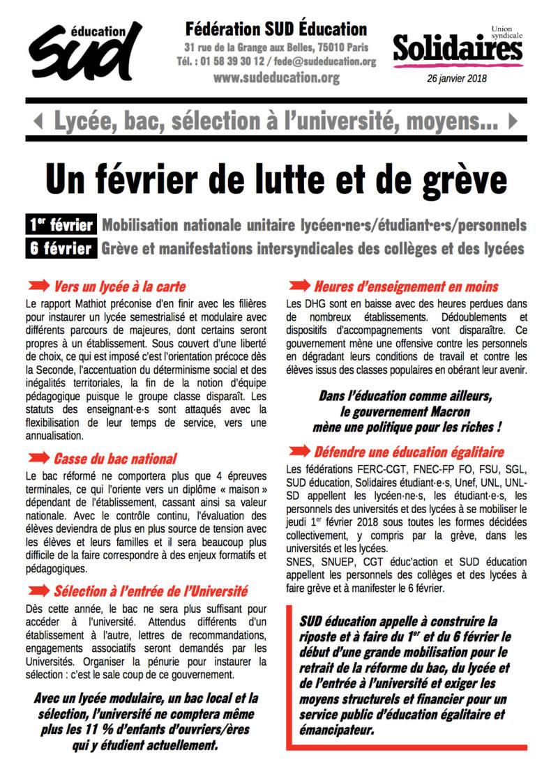Grève dans l'Education le mardi 6 février Captur25
