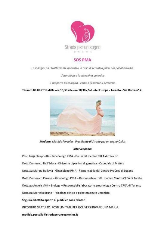 INCONTRO: Nuovo incontro onlus a TARANTO - 3 marzo 2018 Sos_pm10