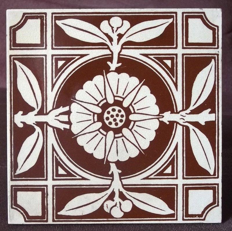 Tiles: MAW & Co, Broseley, Jackfield, Salop (Shropshire). 100_3615