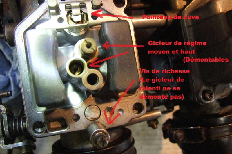 **RESOLU ** GL 1100. 2 cylindres tournent moins fort. Gw012610