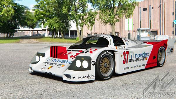 Presentación Copa Porsche 962  010110