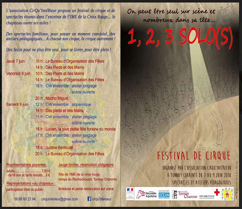 Festival du cirque 1.2.3. solo Festiv12