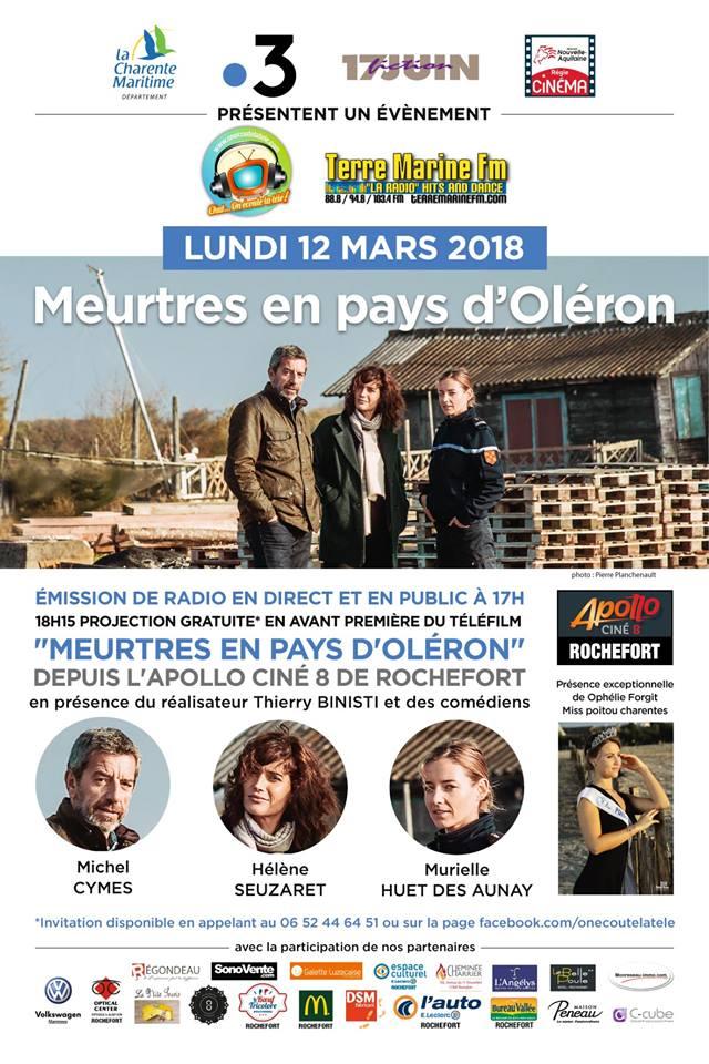 Meurtres en Pays d'Oléron, on y parle de Rochefort Terre10