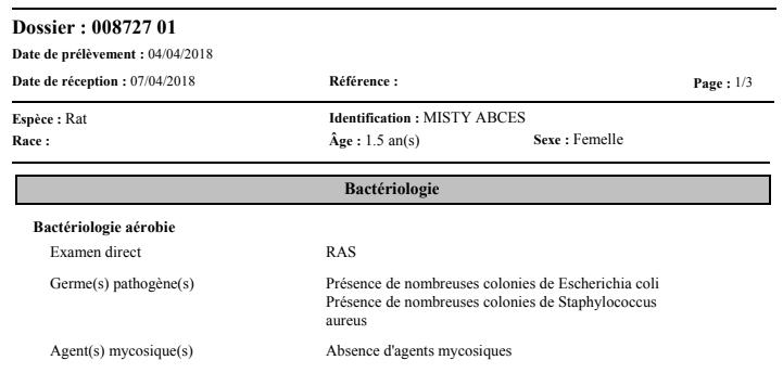 Staphylocoque doré ... Besoin d'avis et de témoignages... Mistya11