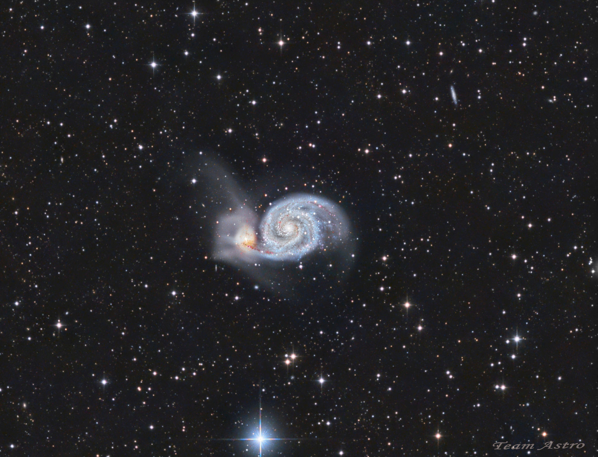 M51+version CROP  HA-LRGB TeamAstro M51mod10