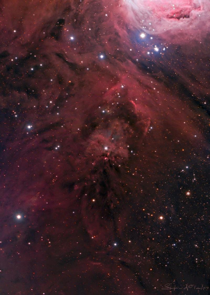NGC1999 HA-LRGB Ngc19910