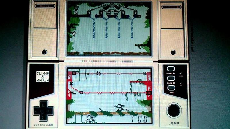 Les jeux électroniques dans nos placards. Donkey10