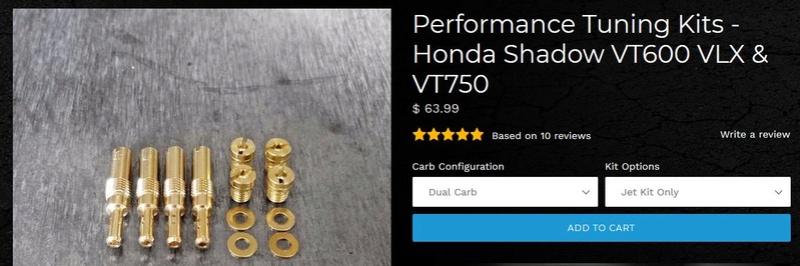 """[VT750C] Echange autour des """"Velocity Stacks"""" ou cornet métal Perf_k10"""