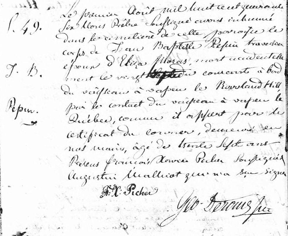 Rowland Hill 1846 Pepin10