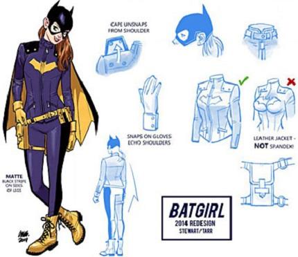 Favorite comic book version of Batgirl? Batgir10